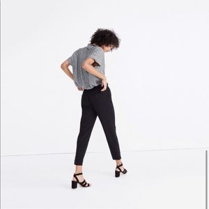 Madewell Track Trouser Black Size Small G8466